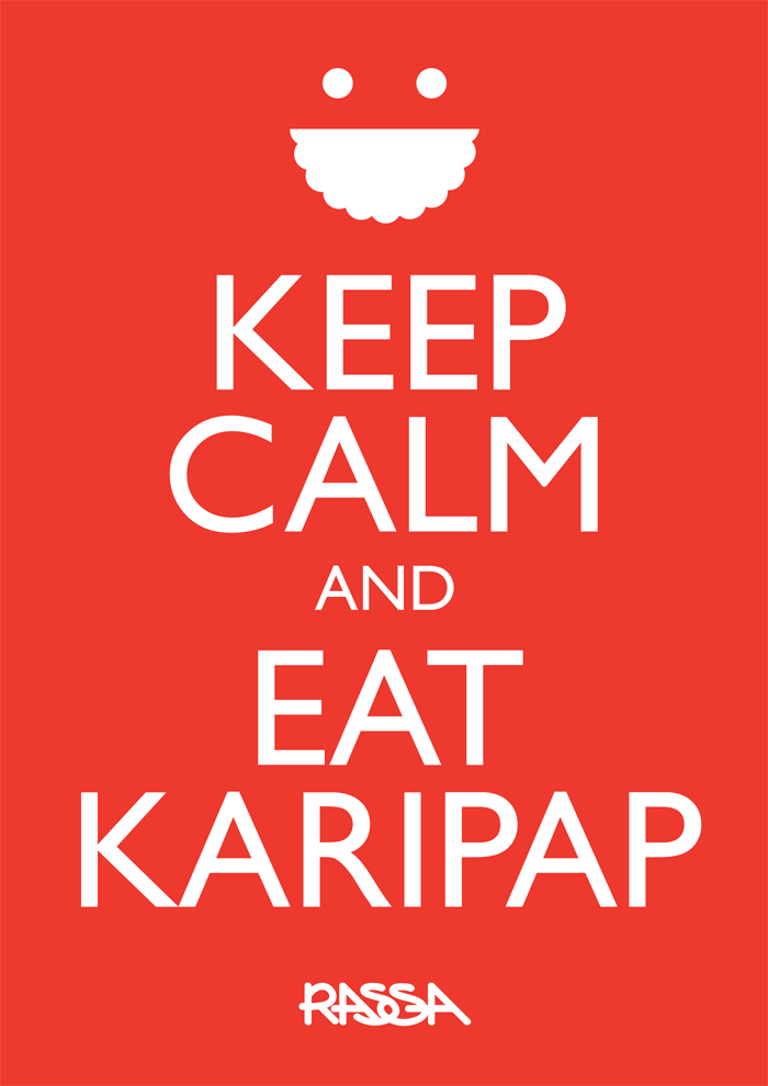 keep calm and eat karipap